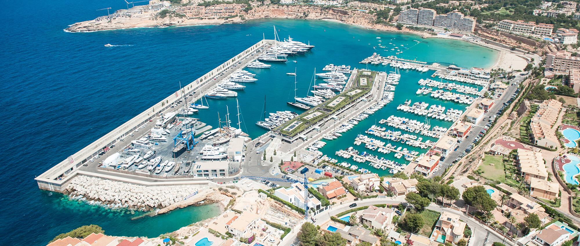 Puertos deportivos de Mallorca, vacaciones en Mallorca, ocio con amigos y familia en Calvià. Ports esportius de Mallorca